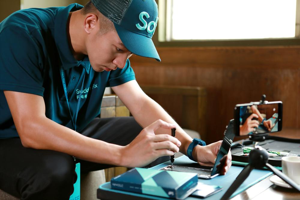 闪电修正式上线佛山地区手机上门维修服务!