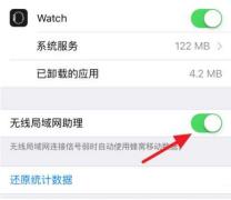 苹果iphone无线局域网助理