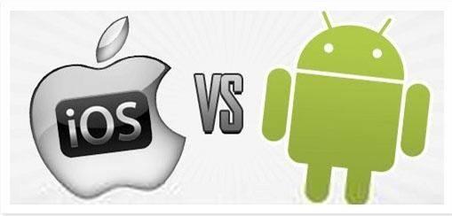 苹果与安卓对比
