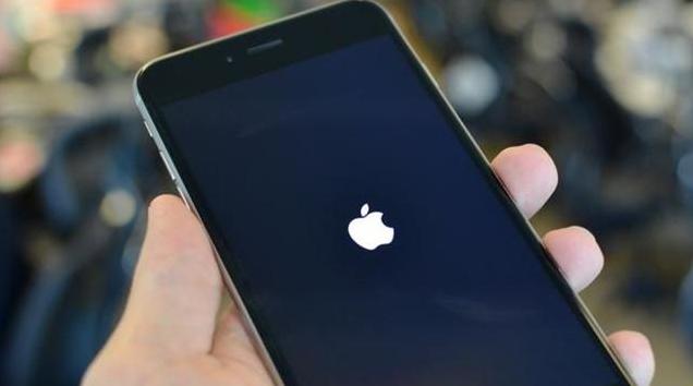 苹果iphone手机关机画面