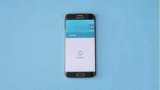 三星手机软件更新页面