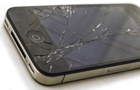 苹果4手机碎屏图片