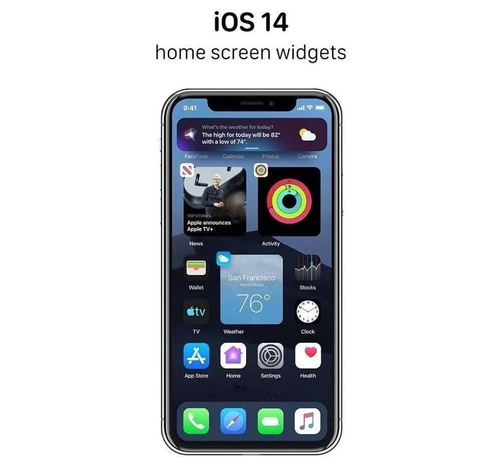 iOS14三大新功能确认,支持12款老机型升级,快进来康康!