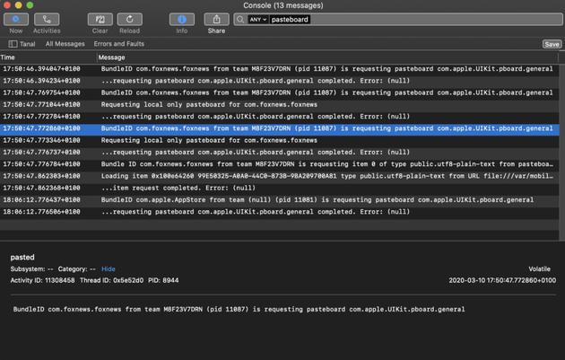 外媒曝多个iPhone应用正偷偷监视你的剪贴板 Mac也中招