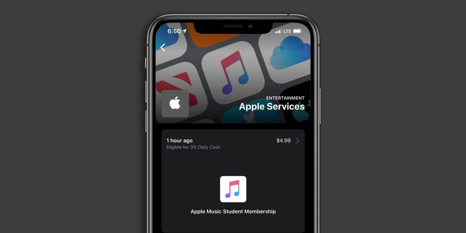 iOS 13.4 测试版最新功能:改进 Apple Card 用户界面