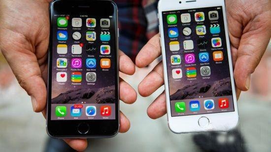 苹果新旧手机对比图
