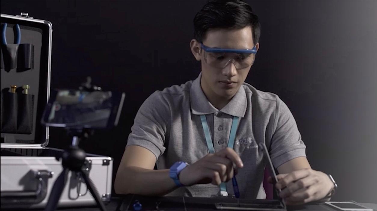 闪电修工程师全程录像