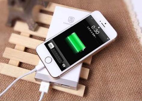 苹果手机充电图
