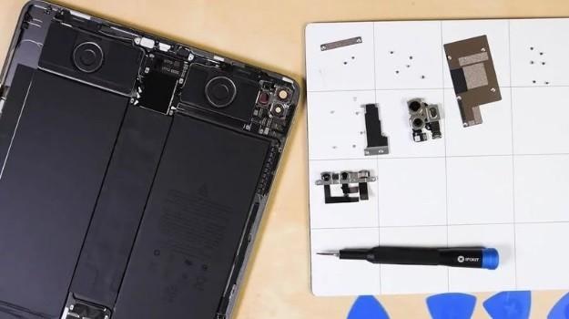新款iPad Pro拆解报告出炉 光学雷达扫描仪现身