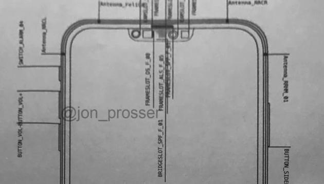 iPhone 12最新设计图曝光:刘海更窄 硬件布局大变脸